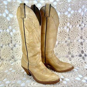 Abilene Boho Western Boots Cowboy Boots Leather
